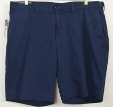 Polo Ralph Lauren NEW 42 x 9 Shorts Blue Classic Fit Flat Cotton Twill MSRP $70