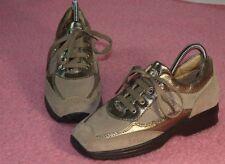 GEOX ☺ Sneaker ☺ Schnür Schuhe ☺ Gr. 33 ☺ *TOPst* ☺ Wildleder / Glattleder Mix