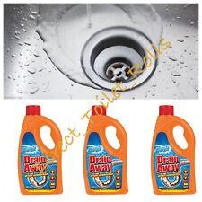 More details for duzzit drain away fast acting liquid plughole unblocker mutipack bulk buy