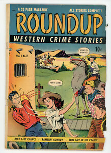 JERRY WEIST ESTATE: ROUNDUP #2 (D.S. Publishing 1948) VG condition NO RES
