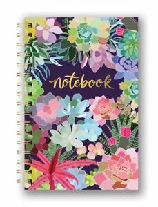 Studio Oh! Succulent Paradise spiral notebook with gold foiling  #SJ003