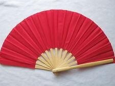 Bambusfächer Tai Chi Kung Fu Fächer Kampfsportfächer Tanzfächer Rot