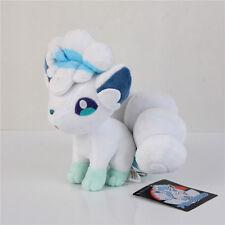"Pokemon Sun & Moon Alola Ice Vulpix Rokon Plush Doll Cute Toy Stuffed Plushie 8"""