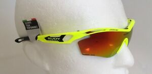 Rudy Project TRALYX Yellow Fluo Sunglasses Laser Orange Mirror Lens Ref:394