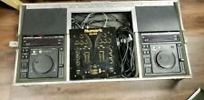 DJ gear, 2 Pioneer CDJ700S + Pioneer CA-700A flight case + Numark mixer.