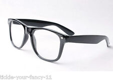 Hipster Glasses Austin Powers Buddy Holly Geek Nerd 50s 60s Fancy Dress Costume