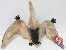 "Ty Beanie Baby ""Swoop"", the Pterodactyl - Brand New * Pristine Fabric & Tags"