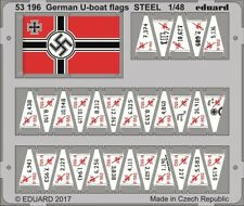 EDP53196 - Eduard Photoetch 1:48 - German U-boat Flags