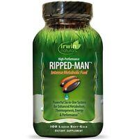 Irwin Naturals High Performance Ripped Man Intense Metabolic Fuel 100 Soft Gels