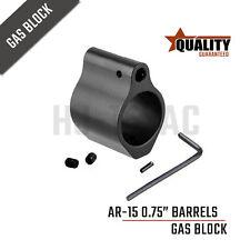 USA Seller HJ-15 Premium 223 Low Profile Micro Gas BIock .750 Black Finished
