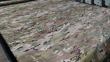 "Multi Cam Epsilon 1.55oz Ripstop Fabric 60""W Camouflage Multicam Water Repellent"