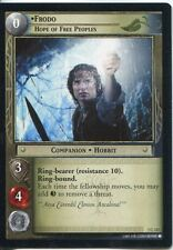 Lord Of The Rings CCG Card RotK 7.C317 Frodo, Hope Of Free Peoples