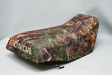 HONDA ATC250ES Seat Cover BIG RED in CAMO  or any 25 COLORS     (ST)