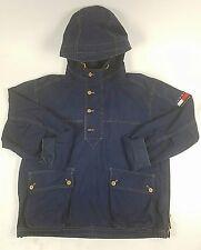 Vintage 90s TOMMY HILFIGER Jacket Sailing Rain Gear Vest windbreaker Parka- Sz M