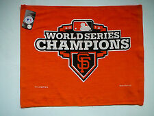 SAN FRANCISCO SF GIANTS 2012 WORLD SERIES CHAMPIONS ORANGE RALLY TOWEL