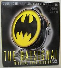 DC COMICS BATMAN BATSIGNAL BAT-SIGNAL PROP Replica lights up Statue Figure Bust