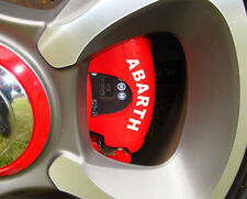FIAT Abarth Brake Caliper Decals 500 Grande Punto Stilo Bravo Panda ALL OPTIONS