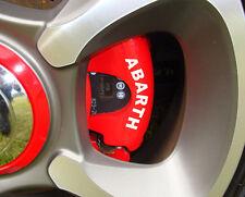 FIAT Abarth Brake Caliper Decals 500 Grande Punto Stilo Bravo Panda ALL OPTIONS
