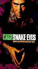 Snake Eyes (Vhs, 1999) Nicolas Cage,Gary Sinise