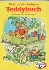 Kinderbuch - NEU - Mein großes farbiges Teddybuch