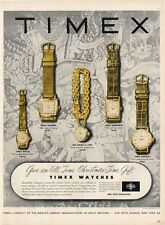 1953 Timex five Men & Women Watch models Great vintage PRINT AD