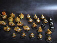 Krosmaster Quest style custom monster tokens! Tofu & Goball tribe dual deal!!