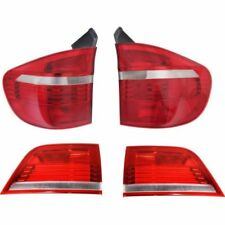 BMW X5 X-5 E70 2007-2010 INNER OUTER TAILLIGHTS TAIL LIGHTS REAR LAMPS 4PC SET