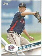 Kolby Allard Atlanta Braves 2017 Topps Pro Debut