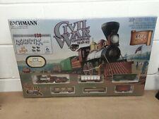 Ho Scale Bachmann Civil War 150th Anniversary Confederate Train Set NIB Sealed