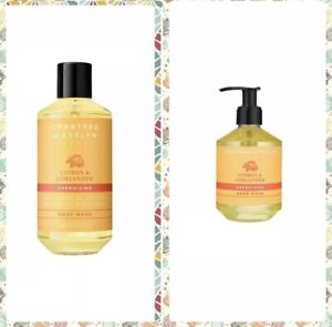 CRABTREE & EVELYN Energising Citron & Coriander Body Wash And Hand Wash 250ml