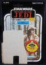 Vintage Star Wars 1984 LOGRAY CARDBACK 79 Back Kenner
