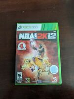 Nba 2K12 XBOX 360 Sports (Video Game) shelf 62