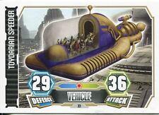Star Wars Force Attax Series 3 Card #77 Toydarian Speeder