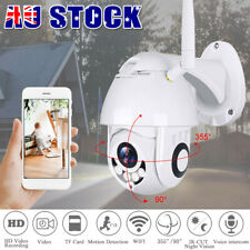 Security Camera System Wireless Home CCTV Wifi Outdoor 1080P Night Vision 5 Zoom