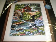NEW Dimensions Counted Cross Stitch Kit OLD MILL COTTAGE #2484