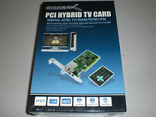 Sabrent PCI Hybrid TV Card - Digital ATSC TV / QAM / NTSC / FM - HD 1080i DVR