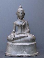 Ancien Bouddha en Bronze du Laos