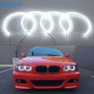 For BMW 3 Series E46 318i 320i 325i 330i 1999-04 Smd Led Angel Eyes Halo Rings
