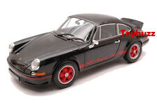 WELLY 1:18 PORSCHE 911 2.7 CARRERA RS 1973 BLACK 18044 NEW