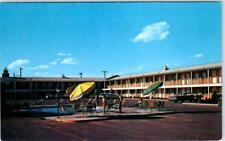 ODESSA, Texas  TX   Roadside  RAMADA INN   Highway 80   ca 1950s   Postcard