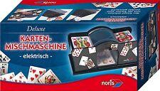 Noris Spiele Kinderspiel Karten Mischmaschine Elektrisch Casino Kartenmischer