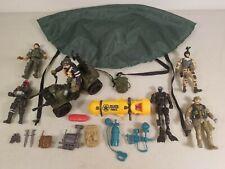 Lot of 6 U.S.Army Soldier (HK Design - CHAP MEI) Action Figures & Accessories