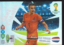 Panini XL Adrenalyn World Cup 2014 Robin Van Persie GAME CHANGER Holland