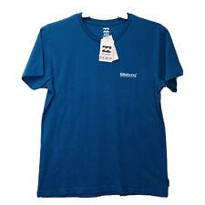 Billabong Wave Washed Tee Pacific T-Shirt Tee Blue Men's Small Medium NEW