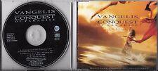MAXI CD VANGELIS CONQUEST OF PARADISE 4 TITRES DE 1992 TBE