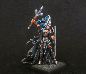 Reaper Miniatures,Tierdeleira,Dark Elf Priestess (Metal) Painted D&D,Dark Sword