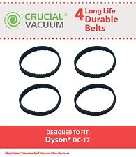 4 Replacements Dyson DC17 Geared Belts 10MM Part # 911710-01 91171001