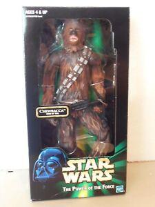 "Star Wars CHEWBACCA Hard skin 12"" figure Kenner (1999) POTF2 line"