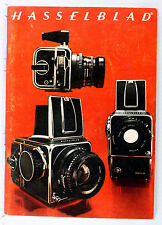 Original Catalog for Hasselblad Products - printed in 1974 - 60 pages
