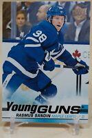 Rasmus Sandin Young Guns 2019-20 Upper Deck Rookie RC Toronto Maple Leafs